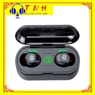 Tai nghe bluetooth true wireless AMOI F9 | bản QUỐC TẾ | nút cảm ứng | Bluetooth 5.0 | Pin 280 giờ