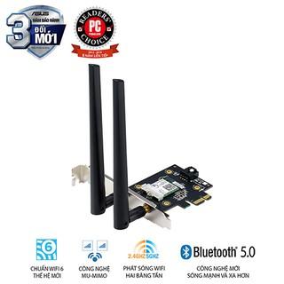Cạc mạng Wifi 6 Asus PCE-AX3000 Chuẩn AX3000 Tray (Chính hãng Asus Việt Nam) thumbnail