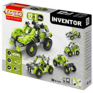 Mô Hình Engino Inventor – Xe Ô tô M12 1231 (23 x 31 x 5.5cm)