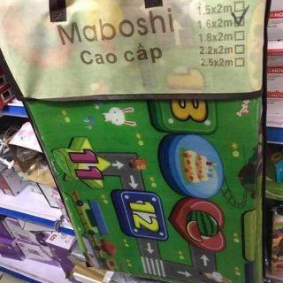 Thảm xốp Maboshi 2 mặt 1m6x2mThảm chơi cho bé Hoạ tiết bảng chữ cái và rau củ quả ạ. K thấm nước, dễ dàng vệ sinh nhé. thumbnail