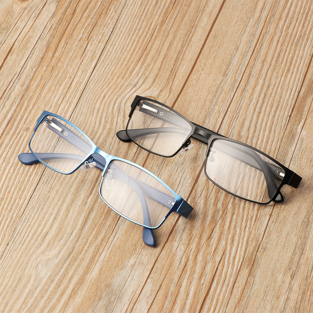 ❤LANSEL❤ Men Eyeglasses Magnifying +1.00~+4.0 Diopter Business Reading Glasses Flexible Portable Metal Titanium Alloy New Fashion Ultra Light Resin Eye...