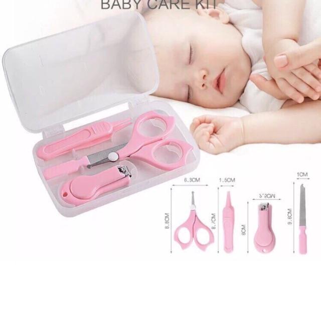 Bộ dụng cụ chăm sóc cho trẻ sơ sinh 4 món Babycare - 2643501 , 1035906506 , 322_1035906506 , 55000 , Bo-dung-cu-cham-soc-cho-tre-so-sinh-4-mon-Babycare-322_1035906506 , shopee.vn , Bộ dụng cụ chăm sóc cho trẻ sơ sinh 4 món Babycare