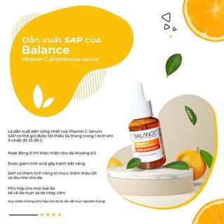 Hình ảnh [Mã FMCGMALL giảm 8% đơn từ 250K] Serum Trắng Da, Mờ Thâm Balance Active Formula Vitamin C Brightening 30ml-1