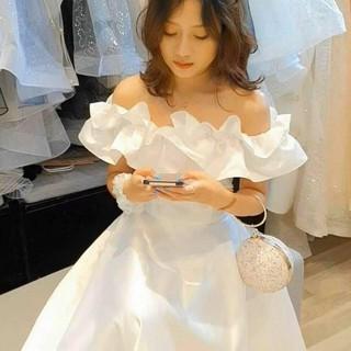 Váy trăng mặc đám cưới kỉ yếu đáng yêu như công chúa - Shop lanang_vn thumbnail