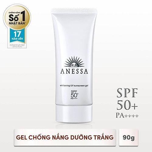 Hình ảnh [HCM]Gel chống nắng dưỡng trắng Anessa Whitening UV Sunscreen Gel 90g_14719-0