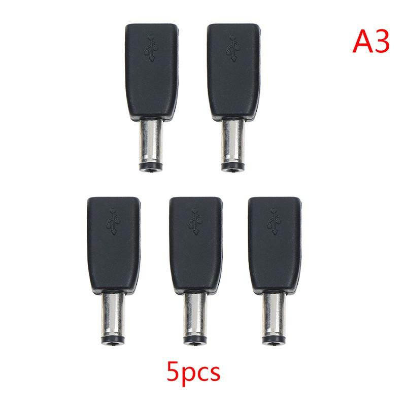 Set 1 / 2 / 5 Đầu Nối Chuyển Đổi Dc 5.5x2.1mm