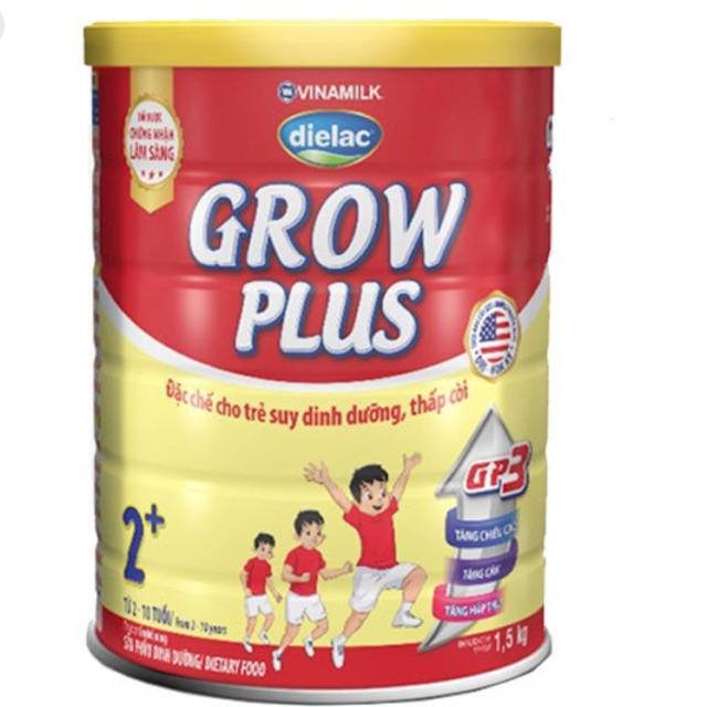 Sữa Dielac Grow Plus 2+ 1500g