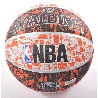 Quả bóng rổ Spalding NBA Graffiti số 7 (73-722Z)- Tặng kim và túi lưới đựng bóng