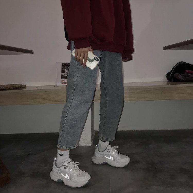 Giày Thể Thao Nữ Buộc Dây Thời Trang