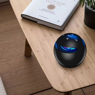 Loa bluetooth mini Niqin S5 âm thanh cực hay bass mạnh. Loa trứng bluetooth 360 hình quả cầu âm thanh vòm hỗ trợ thẻ nhớ