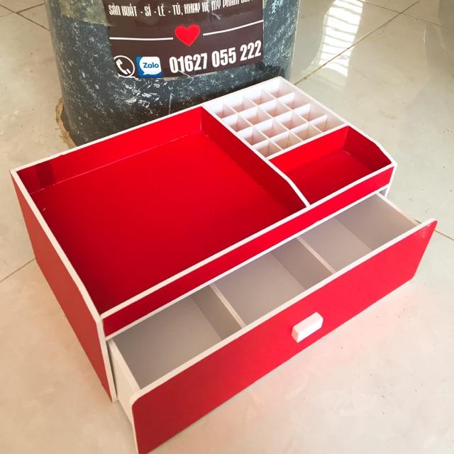 Kệ mỹ phẩm 35cm màu đỏ , khay son , tủ trang điểm. - 3357734 , 1133362878 , 322_1133362878 , 260000 , Ke-my-pham-35cm-mau-do-khay-son-tu-trang-diem.-322_1133362878 , shopee.vn , Kệ mỹ phẩm 35cm màu đỏ , khay son , tủ trang điểm.