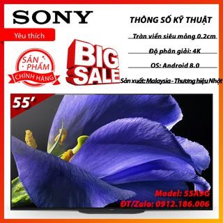 Android Tivi OLED Sony 4K 55 inch KD-55A9G chính hãng
