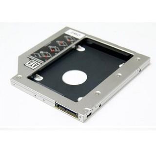 Caddy Bay dày và mỏng 2 loại dành cho Laptop. Thay thế DVD bằng khay này giúp nâng cấp SSD. Vi Tính Quốc Duy