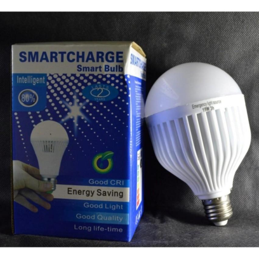 Bóng đèn cảm ứng cầm tay tích điện 15w (trắng)
