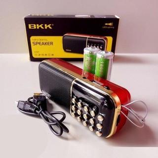 Máy nghe kinh phật thẻ nhớ nghe đài BKK K51