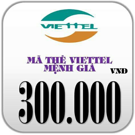 Mã thẻ Viettel 300k Hoặc Nạp Trực Tiếp Giá Rẻ - 9960278 , 840939537 , 322_840939537 , 300000 , Ma-the-Viettel-300k-Hoac-Nap-Truc-Tiep-Gia-Re-322_840939537 , shopee.vn , Mã thẻ Viettel 300k Hoặc Nạp Trực Tiếp Giá Rẻ