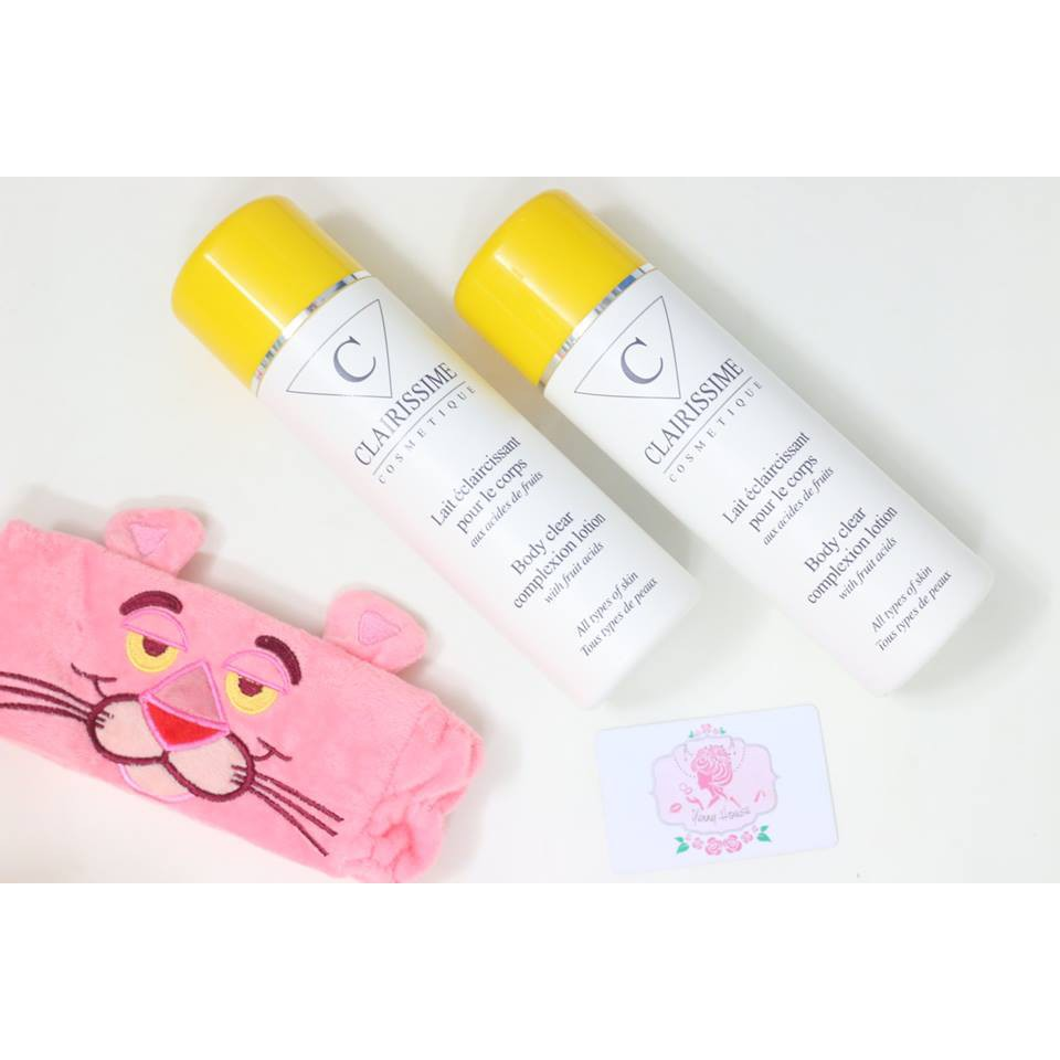 Sữa Dưỡng thể Clairissime Body Clear Complexion Lotion