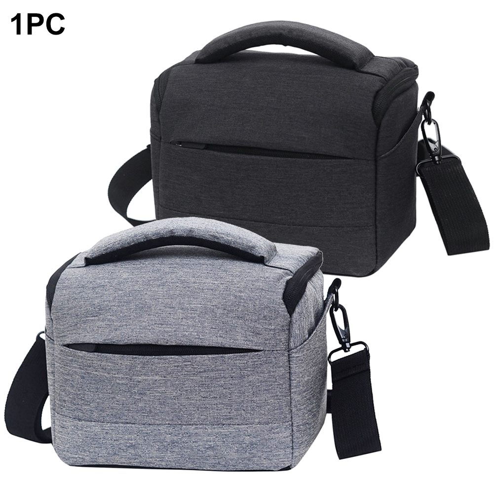 DSLR Polyester Photo Portable Protector Fashion Carrying Case One Shoulder Lens Pouch Waterproof Photography Camera Bag