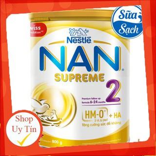 Sữa Bột Nestle Nan Supreme 2 800gr mẫu mới