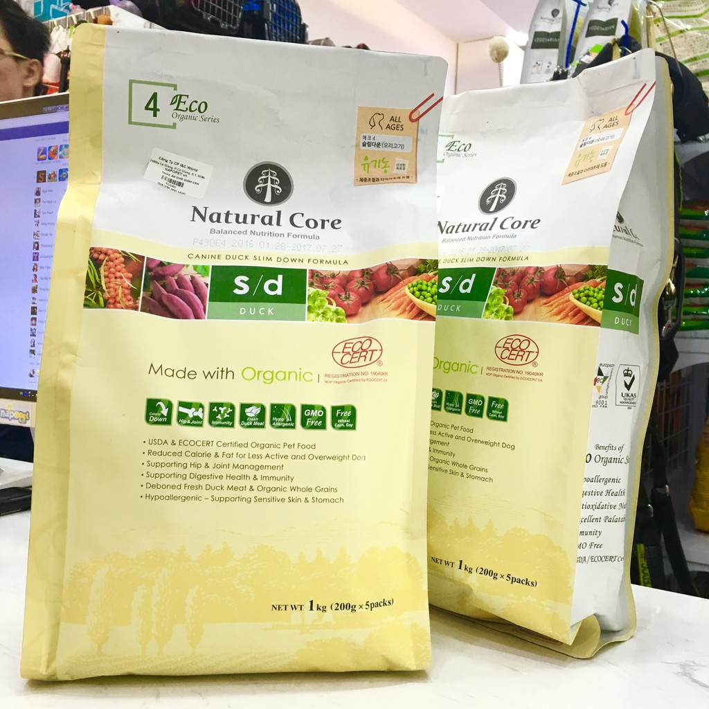 Thức ăn Natural Core vị Vịt cho Chó giảm cân 1kg - 2808618 , 495420190 , 322_495420190 , 235000 , Thuc-an-Natural-Core-vi-Vit-cho-Cho-giam-can-1kg-322_495420190 , shopee.vn , Thức ăn Natural Core vị Vịt cho Chó giảm cân 1kg