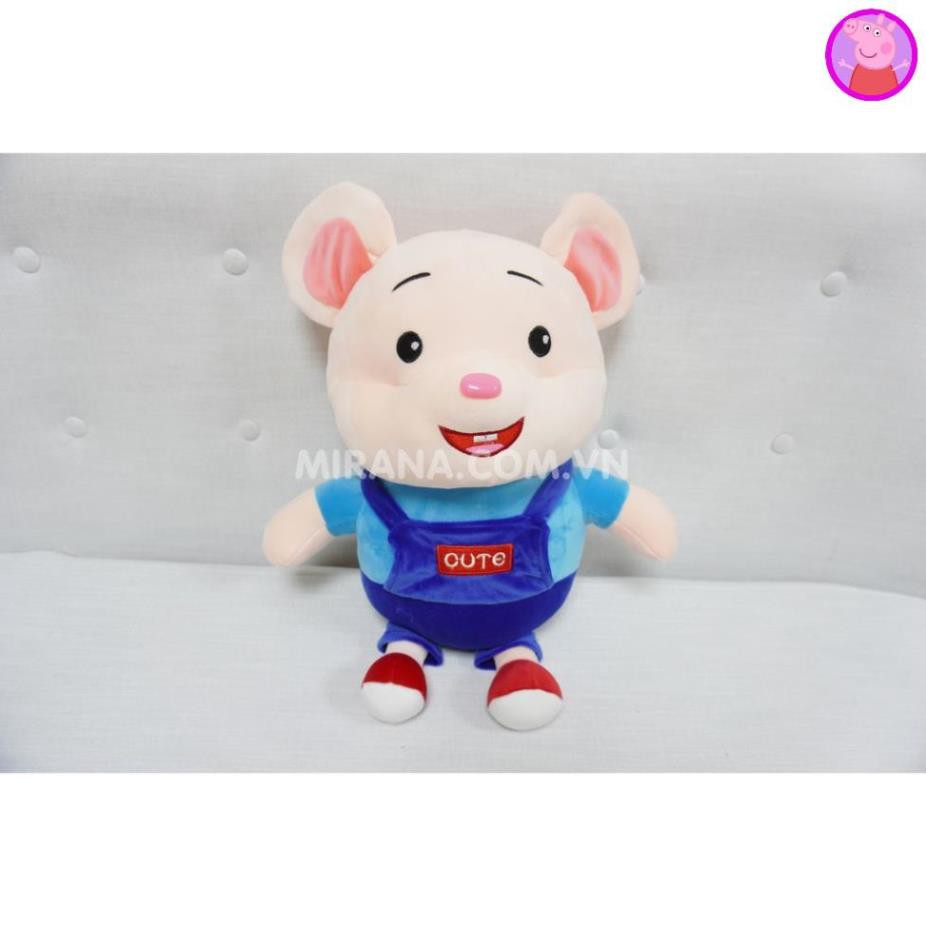 Gấu Bông Chuột Cute ngộ nghĩnh đáng yêu Chất liệu vải cao cấp mềm mịn nhồi bông gòn an toàn...