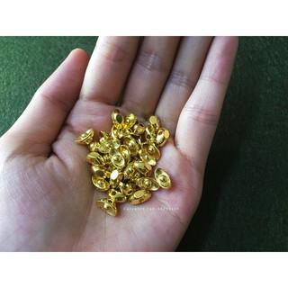 (10 cái) mặt vòng tay thỏi vàng nhỏ [nguyên liệu thủ công]