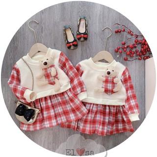 Sét váy dạ gấu 🐻🐻 - VBG-dạ-gấu
