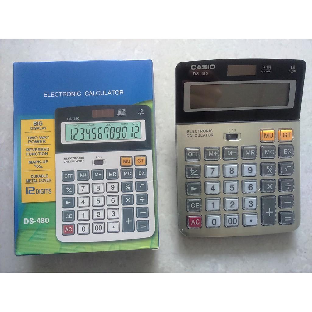 Máy tính Casio DS 480 loại lớn - 3090977 , 1333192096 , 322_1333192096 , 119000 , May-tinh-Casio-DS-480-loai-lon-322_1333192096 , shopee.vn , Máy tính Casio DS 480 loại lớn