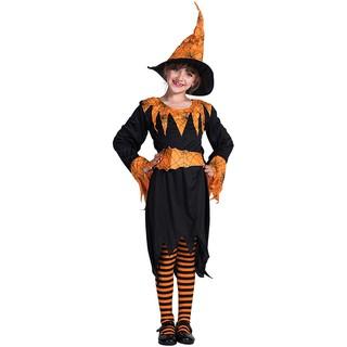 Bộ Đồ Hóa Trang Halloween Nhân Vật Phù Thủy Bí Ngô