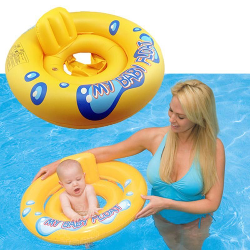 Kids Toddler Swimming Seat Swimming Pool Float Ring
