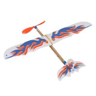Aircraft Toys DIY Foam Elastic Rubber Powered Flying Plane Kit
