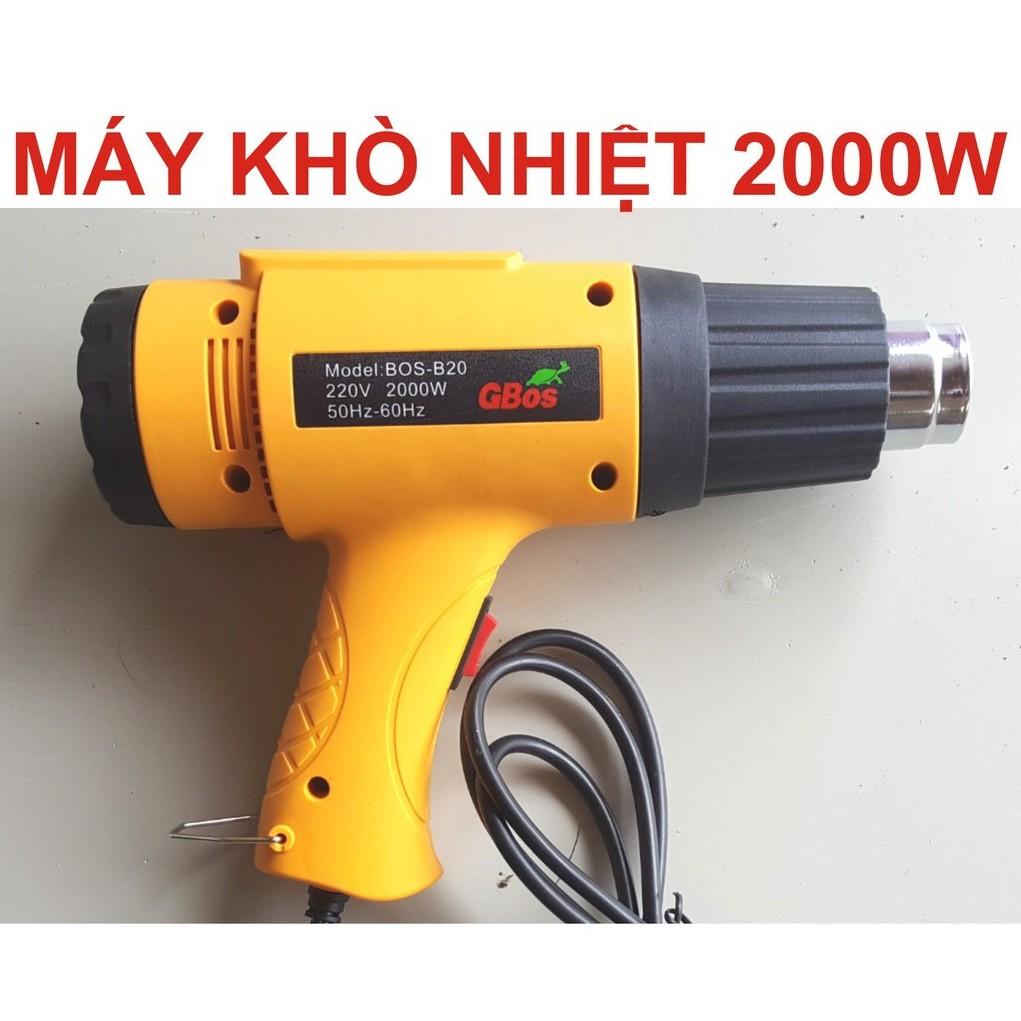 [GIÁ SHOK] Máy khò nhiệt 2000W| máy sấy nhiệt| máy khò hơi nóng