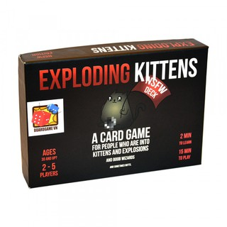 [Nhập ETOYS giảm 15k] Bài Mèo Nổ Exploding Kittens – Mèo Nổ phiên bản 18+ Cao Cấp