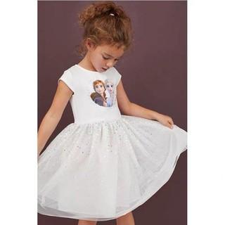 Váy elsa trắng