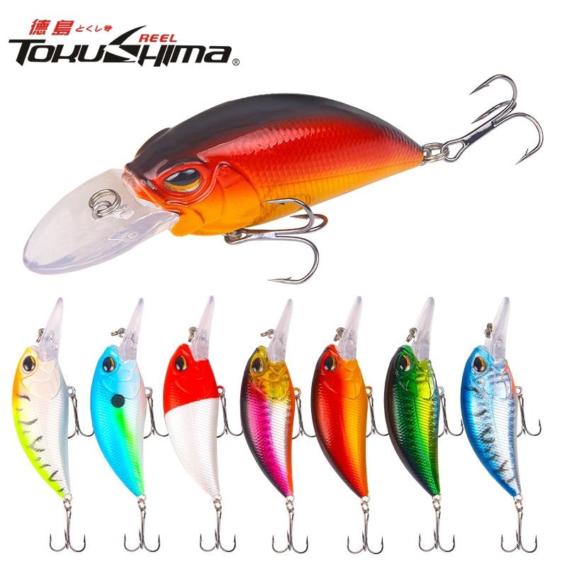 TOKUSHIMA 1pcs 15.3g/9cm Minnow Fishing Lures Floating Artificial Hard Bait Bass Topwater