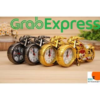 Đồng hồ để bàn chiếc xe mô tô có báo thức. ( Mã DB01)