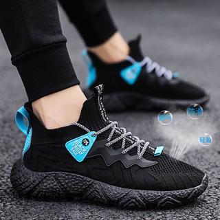 Giày thể thao nam - MS10 Giày Sneaker nam đế siêu mềm êm chân mẫu mới nhất thumbnail