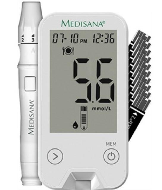 Máy đo huyết áp, đường huyết và nhiệt kế điện tử