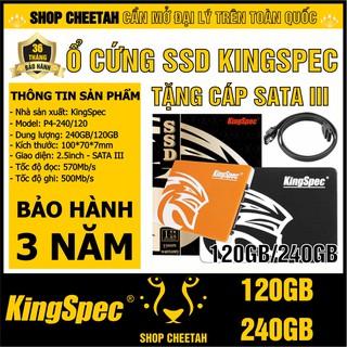 Ổ cứng SSD KingSpec 240GB/120GB – CHÍNH HÃNG – Bảo hành 3 năm – SSD 240GB – SSD 240GB – Tặng cáp dữ liệu Sata 3.0