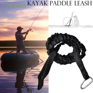 PEWANY Durable Lanyard Surfboard Surfing Leash Paddle Leash Hook Portable Elastic with Carabiner Rope Kayak Accessories Leashes/Multicolor