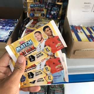 [ Pack Lẻ ] Match Attax UFEA 19/20 ( Pack 7 thẻ )