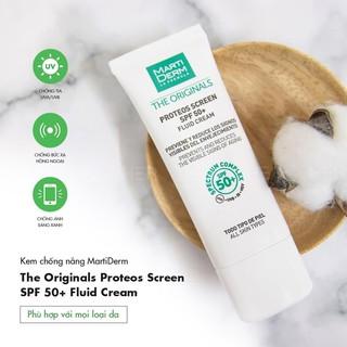 kem chống nắng MartiDerm The Originals Proteos Screen SPF50+ Fluid Cream