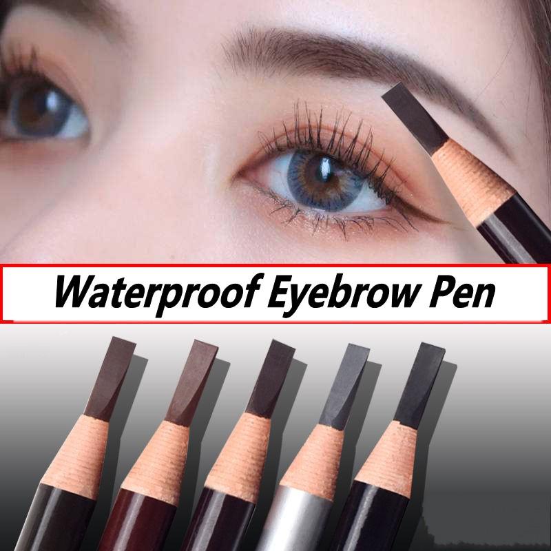 [Hàng mới về] Bút kẻ lông mày chống thấm nước lâu trôi dễ trang điểm tiện dụng
