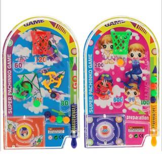 (cảnh báo) -Novelty Space Race Pinball Toy Party Games Pull Back Pinball Mini Machine Gift shop bansigudetama Ag52