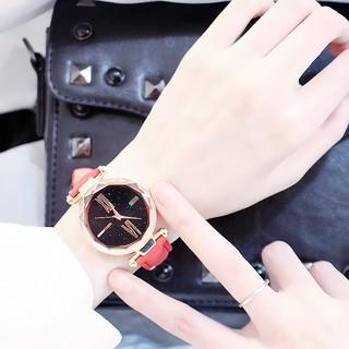 (Giá sỉ) Đồng hồ thời trang nữ Huans H68 dây da nhung