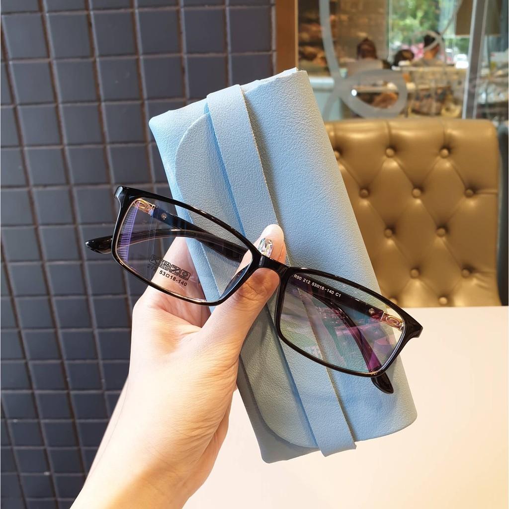 Cắt kính mắt cận-loạn [Gọng kính Hàn Quốc] Gọng kính mắt vuông cận 212