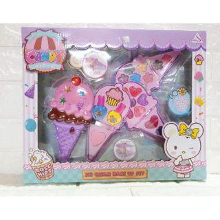 Bộ đồ chơi trang điểm cây kem phấn thật cho bé gái