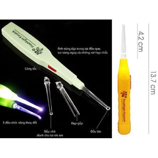 Flash light earpick/ LẤY RÁY TAI CÓ ĐÈN