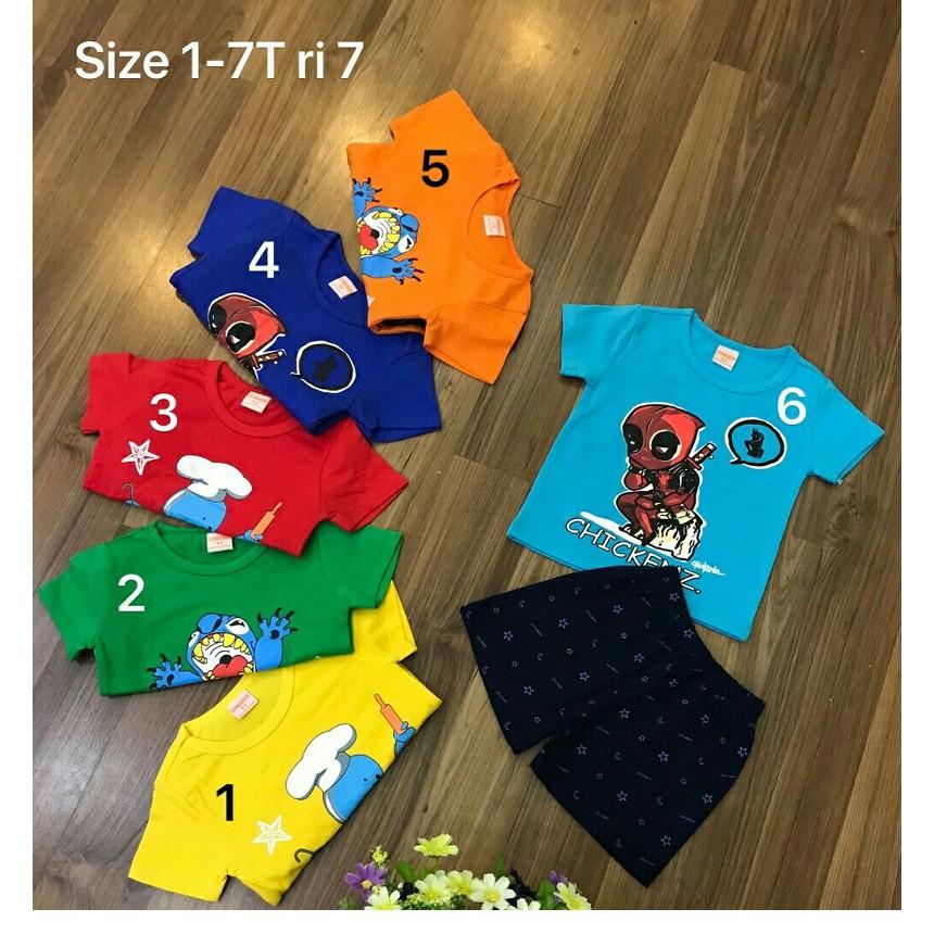 Bộ đồ Cotton hè cho bé trai nhiều hình từ 1-7T BTMH10 - 10010566 , 939552447 , 322_939552447 , 89000 , Bo-do-Cotton-he-cho-be-trai-nhieu-hinh-tu-1-7T-BTMH10-322_939552447 , shopee.vn , Bộ đồ Cotton hè cho bé trai nhiều hình từ 1-7T BTMH10