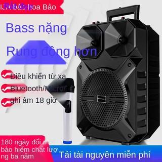 tai nghe bộ sạc dự phòng bộ sạcâm thanh vũ đài vuông Huabao loa siêu trầm bluetooth lượng cao ngoài trời công suất1 thumbnail
